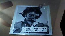 SALE*  GEORGE HARRISON CHICAGO 11/30/74 LIVE  #1044 IMPORT LP VERY GOOD PLUS