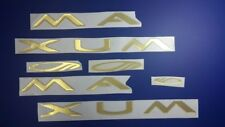 """MAXUM boat Emblem 40"""" gold + FREE FAST delivery DHL express"""