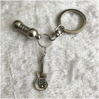 Cremation Jewellery Ashes Urn Keyring Electric Guitar Funeral Keepsake Memorial
