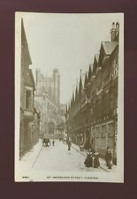 Cheshire CHESTER St Werburgh St used 1918 RP PPC Grosvenor Series