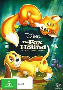 312A NEW SEALED THE FOX AND THE HOUND 30TH ANNIVERSARY EDITION DVD Region 4