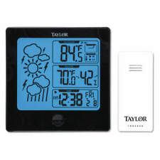 Wireless In/Out Thermometer w/Remote 1731
