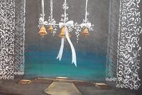 Vintage theatre stage scene design gouache painting