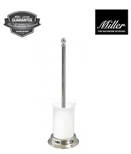 Miller Fine Bathrooms Stockholm Luxury Toilet Brush Set New Boxed