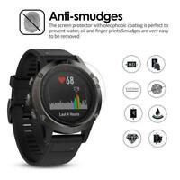2pcs 9H Tempered Glass HD Screen Protector Film for Garmin Fenix 5S Smart Watch