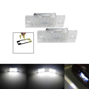 2x Eclairage Plaque d'immatriculation LED Pour Porsche Cayenne 955 957 2003-2010