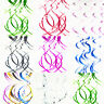 EG_ Ceiling Hanging Swirl Spiral Luster Wedding Birthday Party Decoration Eyeful