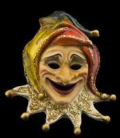 Maschera Di Venezia Joker Carta Pesta Creation Artigianale Copia Unica 947