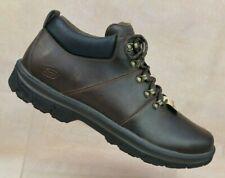 Skechers Segment-Venaro Chocolate Brown Relax Fit Ankle Boot Men's 13 / EUR 47.5