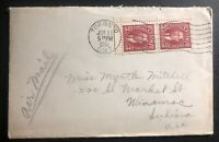 1941 Toronto Canada Patriotic cover to Winamac IN USA Always Be An England