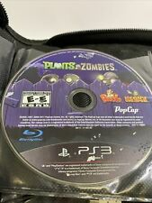 Plants vs. Zombies Sony PlayStation 3 PS3 2011 Disk Only