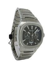 Breil BW0301 Men's Rectangular Carbon Chronograph Date Analog Watch