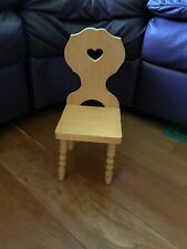 American Girl Doll Kirsten Trestle Chair