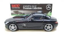 1/64 UCC Mercedes-Benz SLS AMG BLACK diecast car model NEW