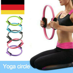 Pilates Ring Yoga Gymnastik Widerstands Ring Circle Fitness mit 38cm Durchmesser