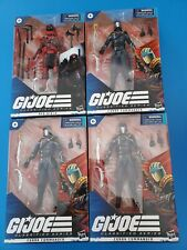 GI Joe Classified seriesTarget Exclusive cobra Commander Red Ninja Lot of 4