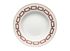 Cadenas Rojo Escarlata - Set de 6 Platos Fondos ø cm 24,5 - Detallista