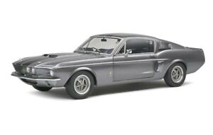 1969 SHELBY MUSTANG GT500 in Grey 1/18 scale model by SOLIDO