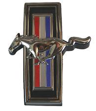 NEW! 1970 Ford Mustang GRILL EMBLEM ORNAMENT Front Tri Bar Running Horse Emblem