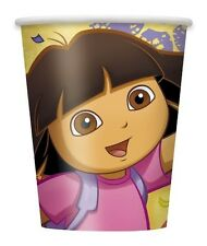 """DORA THE EXPLORER"" Birthday Party Supplies Paper CUPS 9 Oz"