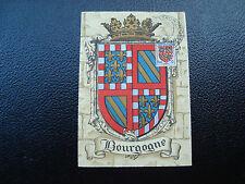 FRANCE-carte 31/10/1953 24eme foire gastronomique dijon(blason)(cy12)french(T)