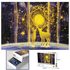 1000 Pieces Jigsaw Puzzles Difficulty Jigsaws Deer In the Forest Educational Toy