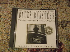 New Orleans Blues Blasters These Lonely Lonely Nights 1993 compliation  CD