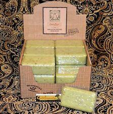 Pre de Provence LIME ZEST Case 18 x 150 Gram French Soap Bath Shower Bars Shea