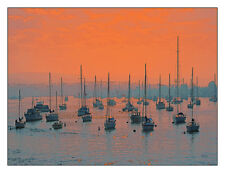 Sunset In Santa Catalina Harbor 12