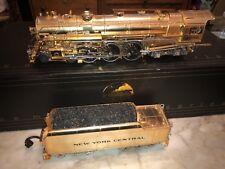 MTH Premier 20-3040-1 New York Central Gold J1e Hudson Steam MIB