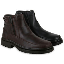 Herren Stiefeletten Winter Boots Warm Gefütterte Profil 825440 Schuhe