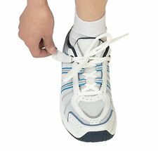 NWB Bio Fit Tahoe ORTHOFEET Diabetic RUNNING SHOE TieLess Laces White Blue 8.5 M
