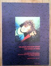 JESUS AND MARY CHAIN 'Sound Of Speed' magazine ADVERT / Poster 11x8 inches