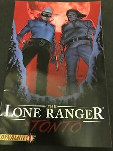Lone Ranger & Tonto #1 Dynamite Comics (2008)