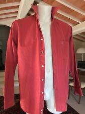 Camicia Uomo MURPHY & NYE Tg. S 100% Cotone Rosa Cipolla Manica Lunga