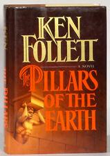 Ken Follett Pillars of the Earth 1989 first Morrow edition