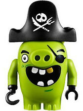 LEGO Angry Birds PIRATE PIG Minifigure Angry Bird 75825 NEW