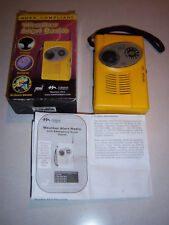 Boxed Noaa Weather Alert Radio with Am/Fm Digital Readout Life Saving Device