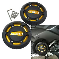 Aluminum Engine Protective Cover Gold For Yamaha TMAX530 12-15 TMAX500 08-11