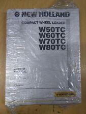 New Holland W50tc W60tc W70tc W80tc Compact Wheel Loader Repair Manual
