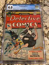 DETECTIVE COMICS #67 CGC 4.0 OW-WH 1ST PENGUIN COVER NEW BATMAN VS PENGUIN MOVIE