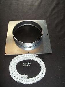 "Chimney Closure/ register plate/ collar. 5""  250mm x 250mm"