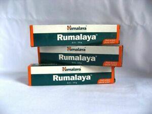 Pack 3 Himalaya Herbal Rumalaya Gel 30g Pain Relif Gel | Joint Body muscle pain