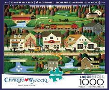 BUFFALO GAMES PUZZLE YANKEE WINK HOLLOW CHARLES WYSOCKI 1000 LARGE PCS #11546