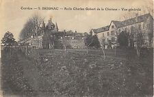 CPA 19 BRIGNAC ASILE CHARLES GOBERT DE LA CHOISNE