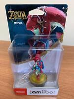Amiibo Mipha - The Legend of Zelda: Breath - Nintendo (Brand New) US Version