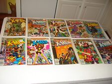 GROUP OF (33) X-MEN COMICS FROM 1981-86, #'s 145-267. HI GRADE, VF - NM., NICE