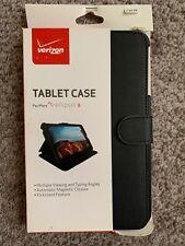OEM Fit Folio Protective Cover for Verizon Ellipsis 8 - Black (AY5)