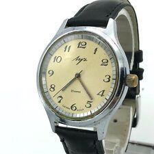 Vintage Esfera Champán Luch Informal Reloj 2209 Soviet Urss Mecánico Viejo Men's