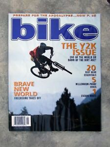 Bike Magazine May 1999 features bikes & product info.